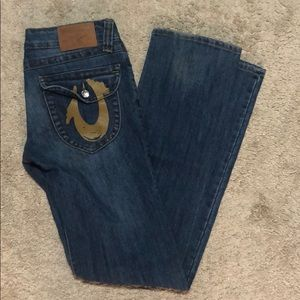 True religion size 25 skinny/relaxed fit